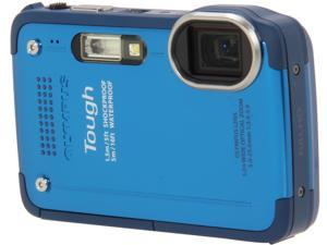 "OLYMPUS Tough TG-630 iHS V104110UU000 Blue 12 MP 3.0"" 460K Digital Camera"