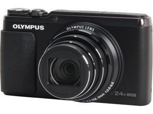 OLYMPUS SH-50 iHS V107050BU000 Black 16 MP Wide Angle Digital Camera HDTV Output