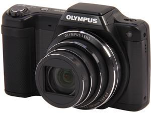 OLYMPUS SZ-15 Black 16 MP Wide Angle Digital Camera HDTV Output