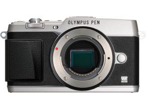 "OLYMPUS PEN E-P5 V204050SU000 Silver 16.1 MP 3.0"" 1037K Touch LCD Micro Four Thirds interchangeable lens system camera - ..."