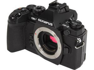 "OLYMPUS OM-D E-M1 (V207010BU000) Black 16.3 MP 3.0"" 1037K Touch LCD Micro Four Thirds Interchangeable Lens system Camera - Body"