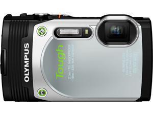 "OLYMPUS Stylus TOUGH TG-850 V104150SU000 Silver 16MP 3.0"" 460K Action Camera"