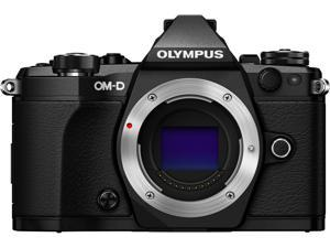 "OLYMPUS OM-D E-M5 Mark II V207040BU000 Black 16.1 MP 3.0"" LCD Mirrorless Micro Four Thirds Digital Camera (Body)"