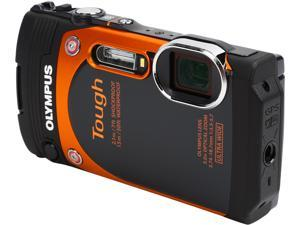 "OLYMPUS TG-860 V104170OU000 Orange 16MP 3.0"" 460K Tough Camera (Orange)"