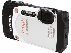 "OLYMPUS TG-860 V104170OU000 White 16MP 3.0"" 460K Tough Camera (White)"