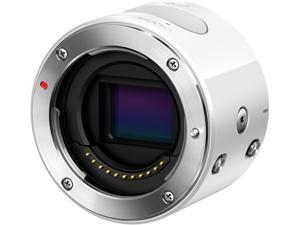 OLYMPUS AIR A01 V208010WU000 White 16.05 MP Mirrorless Micro Four Thirds Lens-Style Digital Camera - Body