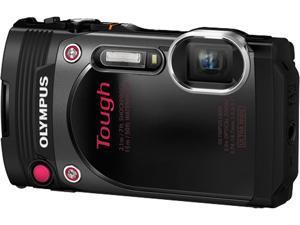 "OLYMPUS TG-870 V104200WU000 Black 3.0"" 920K Digital Camera"