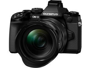 OLYMPUS OM-D E-M1 V207010BU040 Black Micro Four Thirds Interchangeable Lens system Camera with M.12-40mm f2.8 PRO Black Lens