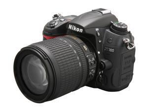 Nikon D7000 Black Digital SLR Camera w/18-105mm lens