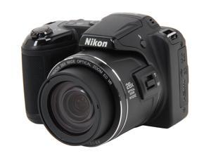 Nikon Coolpix L810 Black 16.1 MP Wide Angle Digital Camera HDTV Output
