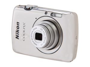 Nikon COOLPIX S01 Silver 10.1 MP Digital Camera