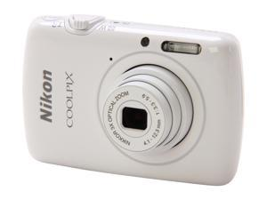 Nikon COOLPIX S01 26349 White 10.1 MP Digital Camera