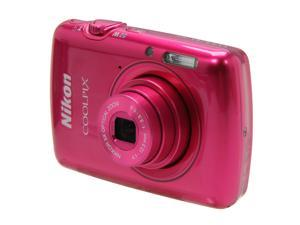 Nikon COOLPIX S01 Pink 10.1 MP Digital Camera