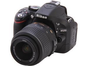 Nikon D5200 1503 Black 24.1 MP Digital SLR Camera with 18-55mm VR Lens Kit