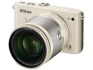 Nikon 1 J3 (27661) Beige Advanced Camera with 10-100mm Lens