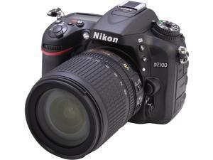Nikon D7100 1515 Black 24.1 MP Digital SLR Camera with 18-105mm VR Lens