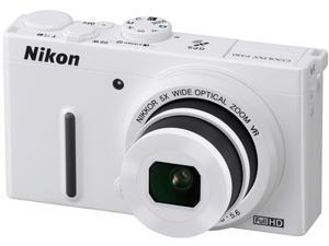 Nikon COOLPIX P330 26415 White 12.2 MP 24mm Wide Angle Digital Camera