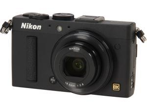 Nikon COOLPIX A Black 16.2 MP 28mm Wide Angle Digital Camera