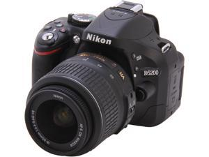Nikon D5200 (1503) Black Digital SLR Camera with 18-55mm VR Lens Kit