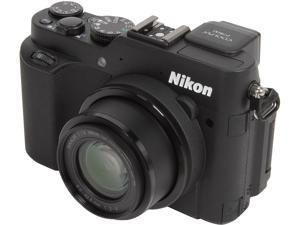 Nikon COOLPIX P7800 26427 Black 12.2 million 7.1X Optical Zoom 28mm Wide Angle Digital Camera HDTV Output
