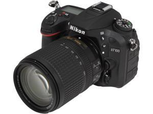 Nikon D7100 (13293) Black 24.1 MP Digital SLR Camera w/ 18-140mm & 55-300mm VR Lenses