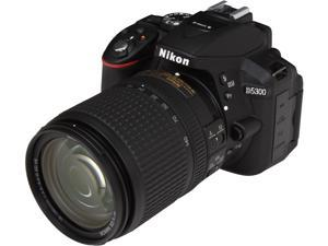 Nikon D5300 13303 Black 24.2 MP Digital SLR Camera with 18-140mm Lens