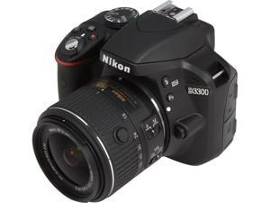 Nikon D3300 1532 Black 24.2 MP Digital SLR Camera with 18-55mm VR Lens