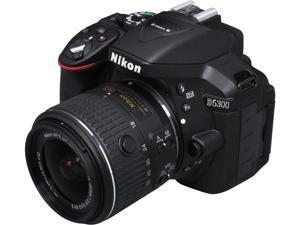 Nikon D5300 1522 Black 24.2 MP Digital SLR Camera with 18-55mm Lens