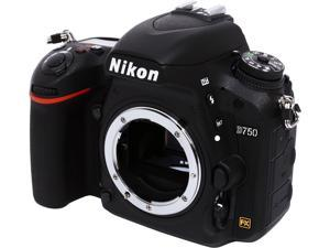 Nikon D750 1543 Black 24.3 MP Digital SLR Camera - Body
