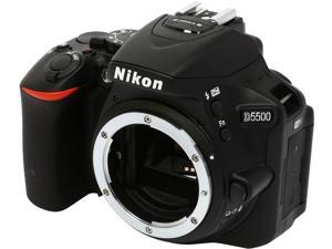 Nikon D5500 1544 Black 24.2 MP Digital SLR Camera - Body
