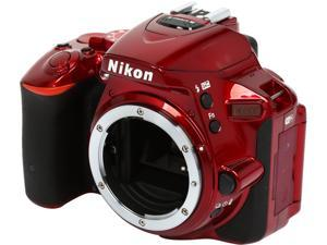 Nikon D5500 1545 Red 24.2 MP Digital SLR Camera - Body