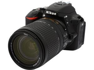 Nikon D5500 1548 Black 24.2 MP Digital SLR Camera with 18-140mm VR Lens