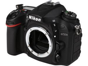 Nikon D7200 1554 Black 24.2 MP Digital SLR Camera - Body Only