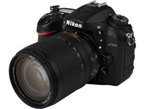 Nikon D7200 1555 Black 24.2 MP Digital SLR Camera with 18-140mm VR Lens