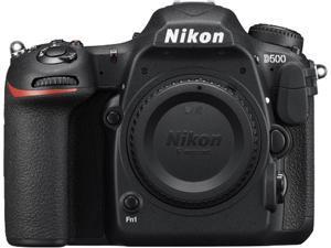 Nikon D500 1559 Black 20.90 MP Digital SLR Camera - Body