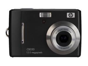 HP CB350 Black 12.0 MP Digital Camera