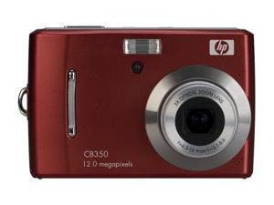 HP CB350 Red 12.0 MP Digital Camera