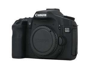 Canon EOS 50D Black Digital SLR Camera - Body Only