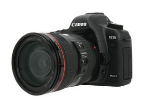 Canon EOS 5D Mark II Black Digital SLR Camera w/EF 24-105mm f/4L IS USM Lens