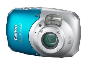 Canon PowerShot D10 Blue 12.1 MP Waterproof Shockproof Digital Camera