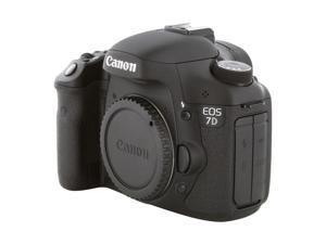 Canon EOS 7D 3814B004 Black Digital SLR Camera - Body Only