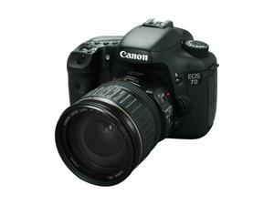 Canon EOS 7D 3814B010 Black 18.0 MP Digital SLR Camera w/ EF 28-135mm f/3.5-5.6 IS Lens