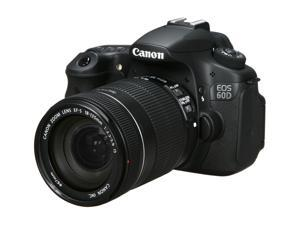 Canon EOS 60D 4460B004 Black Digital SLR Camera w/ EF-S 18-135mm f/3.5-5.6 IS Lens