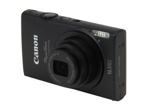 Canon ELPH 110 HS Black 16.1 MP 24mm Wide Angle Digital Camera HDTV Output