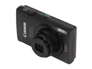 Canon PowerShot ELPH 320 HS 6024B001 Black 16.1 MP 24mm Wide Angle Digital Camera HDTV Output