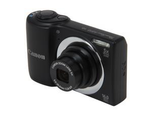 Canon PowerShot A810 6179B001 Black 16 MP 28mm Wide Angle Digital Camera