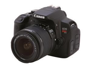 Canon Rebel T4i (6558B003) Black Digital SLR Camera with EF-S 18-55mm f/3.5-5.6 IS II Lens