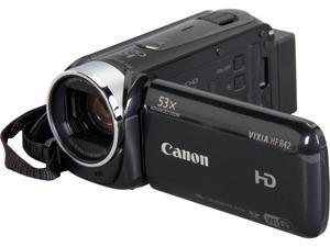 Canon VIXIA HF R42 8152B005 Black Full HD HDD/Flash Memory Camcorder