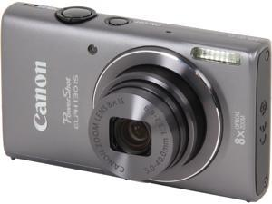 Canon PowerShot ELPH 130 IS 8191B001 Dark Grey 16.0 MP 28mm Wide Angle Digital Camera