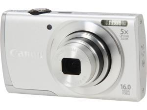 Canon PowerShot A2600 8158B001 Silver 16.0 MP 28mm Wide Angle Digital Camera